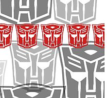 The Iconic Autobots (white) by Vitalitee