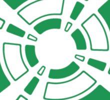 Mandala 24 Green With Envy Sticker