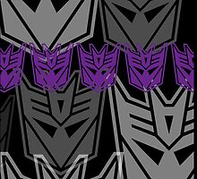 The Iconic Decepticons by Vitalitee