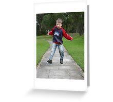 Hopscotch Greeting Card