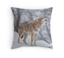 Howling Good Time Throw Pillow