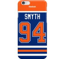 Edmonton Oilers Ryan Smyth Jersey Back Phone Case iPhone Case/Skin