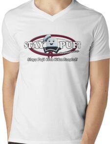 Stay Puft Marshmallows Mens V-Neck T-Shirt