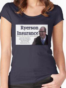 Ryerson Insurance Women's Fitted Scoop T-Shirt