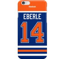Edmonton Oilers Jordan Eberle Jersey Back Phone Case iPhone Case/Skin