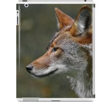 Coyote Profile iPad Case/Skin