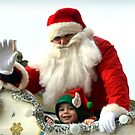 Say Hi to Santa and his little Elf......... by lynn carter
