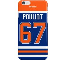 Edmonton Oilers Benoît Pouliot Jersey Back Phone Case iPhone Case/Skin