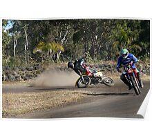 bike crash Poster