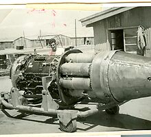J-47 Engine for F-86 Sabre Jet by dummy