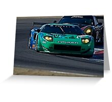 2008 Ford GT 'Tight Turn' Greeting Card