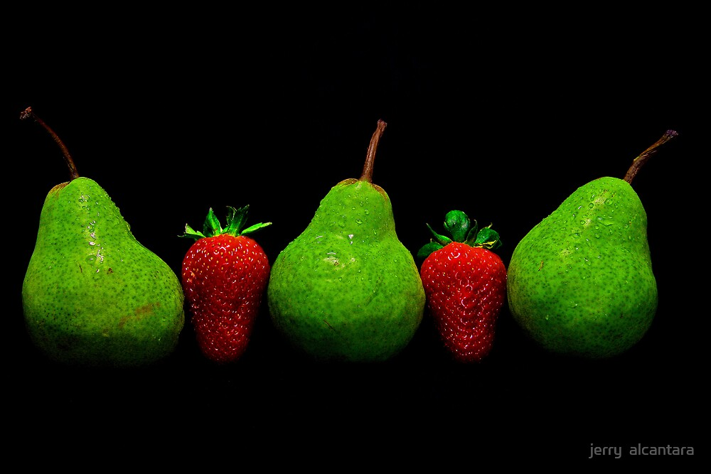 Green & Red by jerry  alcantara