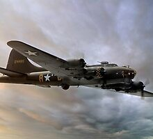 Flying Fortress at Sunset by © Steve H Clark Photography