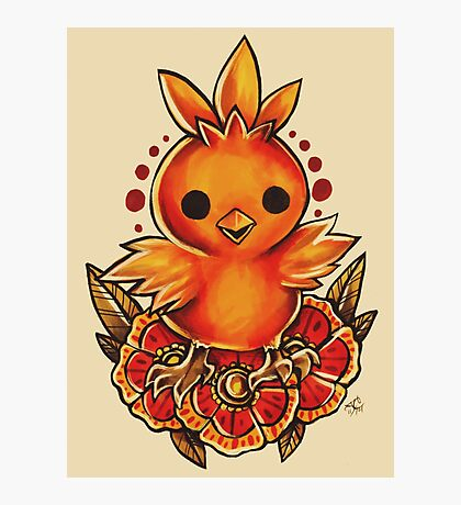 Torchic Photographic Print