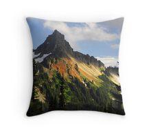 """""""Tatosh Mountains"""" Throw Pillow"""