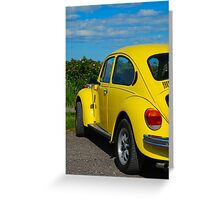 Bright Bug Greeting Card