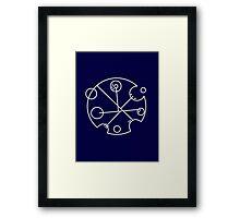 Galifreyian Symbol Framed Print