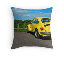 Bright Bug Throw Pillow