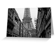 Paris Architecture Greeting Card