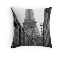 Paris Architecture Throw Pillow