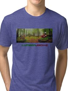 LumberJack-2 Tri-blend T-Shirt