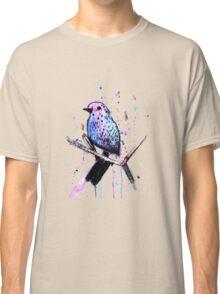 Watercolor Bird Classic T-Shirt