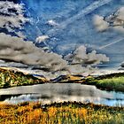 Lakeside Snowdonia by john0