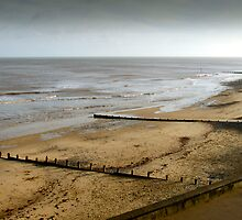 Cromer Beach North Norfolk at low tide by johnny2sheds