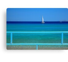 Shades of blue - Kos island Canvas Print