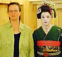 Mother and Maiko Daughter by satsumagirl