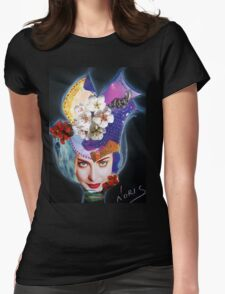 Tulip on the wind Womens Fitted T-Shirt