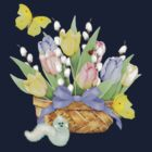 Spring Tulip Basket by SpiceTree