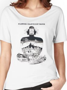 Flower Travellin' Band - Satori Women's Relaxed Fit T-Shirt