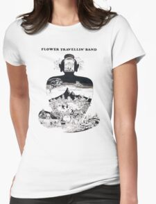 Flower Travellin' Band - Satori Womens Fitted T-Shirt