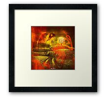 """ The show of the nature is always beautiful. "" Framed Print"