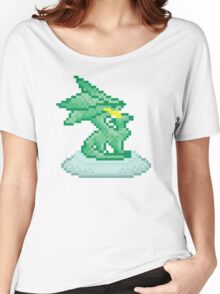 Crystal Dragon Statue Spyro Women's Relaxed Fit T-Shirt