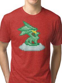 Crystal Dragon Statue Spyro Tri-blend T-Shirt