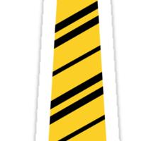 Hufflepuff Tie Sticker