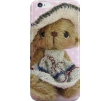 Jessica - Handmade bears from Teddy Bear Orphans iPhone Case/Skin