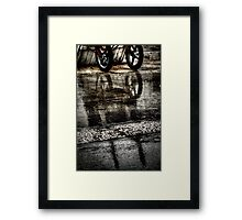 Riflessi Carretto Framed Print