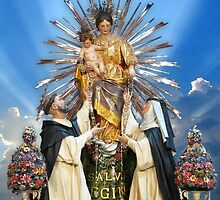 Our Lady of the Rosary of Pompeii  by fajjenzu