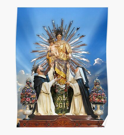 Our Lady of the Rosary of Pompeii  Poster