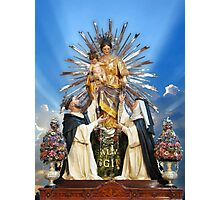 Our Lady of the Rosary of Pompeii  Photographic Print