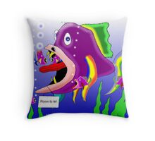 The lodger Throw Pillow