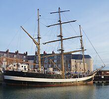 Tall Ship Pelican Of London by Malcolm Snook