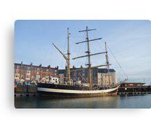Tall Ship Pelican Of London Canvas Print