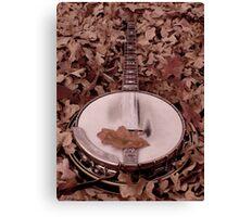 Shanes Banjo Canvas Print