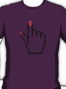 FEMALE COMUTER CURSOR POINTER T-Shirt
