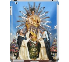 Our Lady of the Rosary of Pompeii  iPad Case/Skin