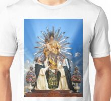 Our Lady of the Rosary of Pompeii  Unisex T-Shirt